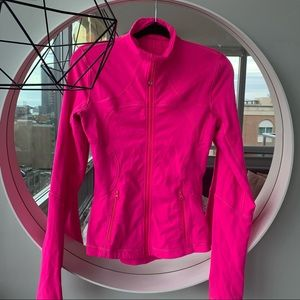 Lululemon Define Jacket Hot Pink